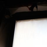 Окно на кухне после пожара