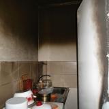 Кухня после пожара