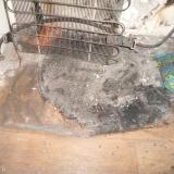 Сгоревший холодильник