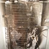 Сгоревший холодильник марки Bosh