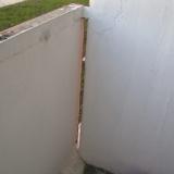 Не плотное примыкание плит на балконе